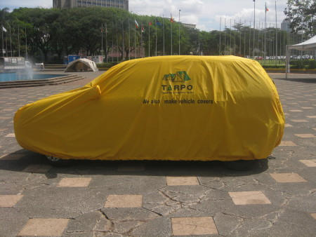 Full body car hood cover toyota