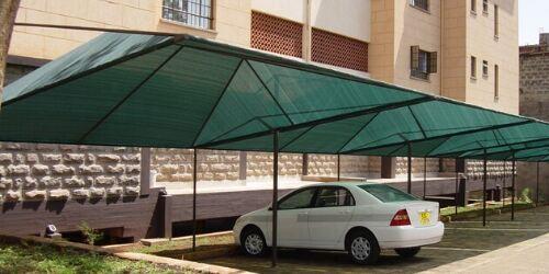 Car sun shades in Kenya