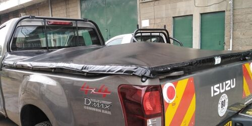 dmax 4x4 pickup tonneau cover for sale