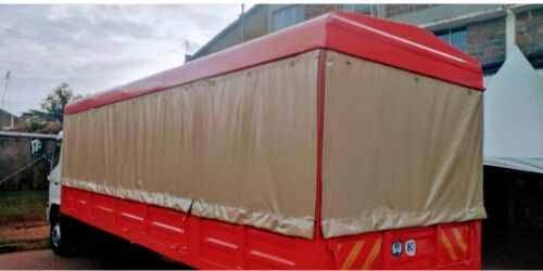 Lorry cover side Curtains