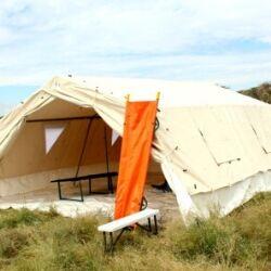 dispensary tent